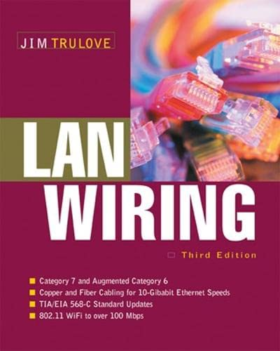 9780071459754: LAN Wiring