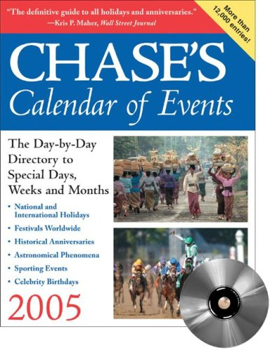 9780071460026: Chase's Calendar of Events 2005