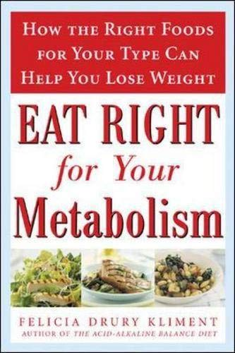 9780071460156: Eat Right for Your Metabolism: The Individualized Diet Plan to Balance Body Chemistry, Lose Weight, and Prevent Disease