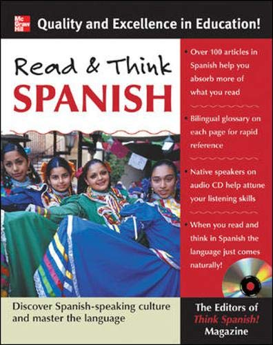 9780071460347: Read and Think Spanish (Book +1 Audio CD)