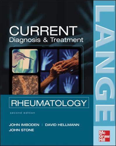 9780071460408: Current Rheumatology Diagnosis &Treatment