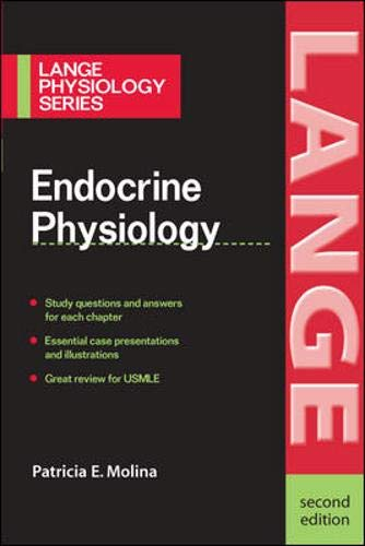 9780071460484: Endocrine Physiology (Lange Physiology Series)