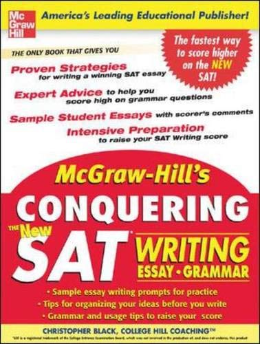 9780071460767: McGraw-Hill's Conquering the New SAT Writing