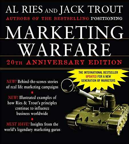 9780071460828: Marketing Warfare: 20th Anniversary Edition: Authors' Annotated Edition