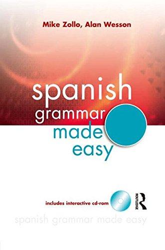 9780071460958: Interactive Spanish Grammar Made Easy w/CD-ROM