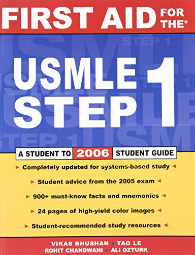 9780071461153: First Aid for the USMLE Step 1: 2006