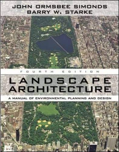 9780071461207: Landscape Architecture, Fourth Edition: A Manual of Land Planning and Design