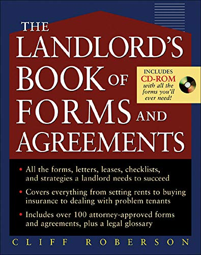 9780071461214: The Landlord's Book of Forms and Agreements (Business Books)