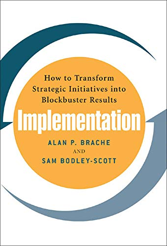 9780071461559: Implementation: How to Transform Strategic Initiatives into Blockbuster Results