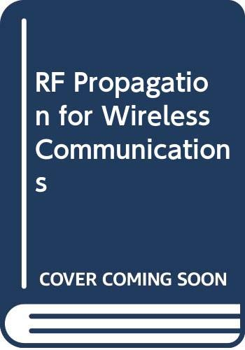 9780071461597: RF Propagation for Wireless Communications