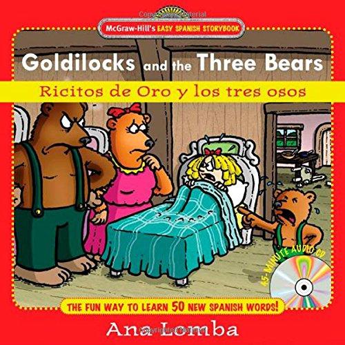 9780071461702: Easy Spanish Storybook: Goldilocks and the Three Bears (Book + Audio CD): Ricitos de Oro y los Tres Osos