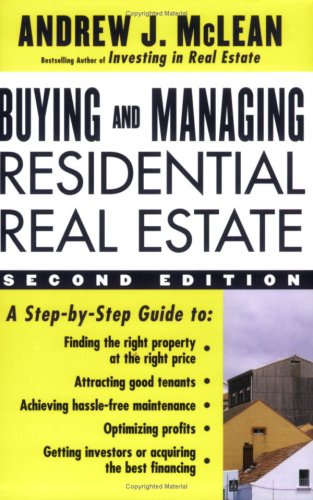 9780071462198: Buying and Managing Residential Real Estate, 2/e