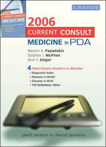 9780071462457: Current Consult Medicine 2006 for PDA