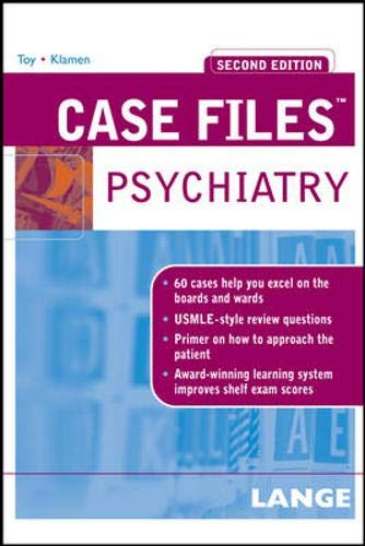 9780071462822: Case Files Psychiatry, Second Edition (LANGE Case Files)