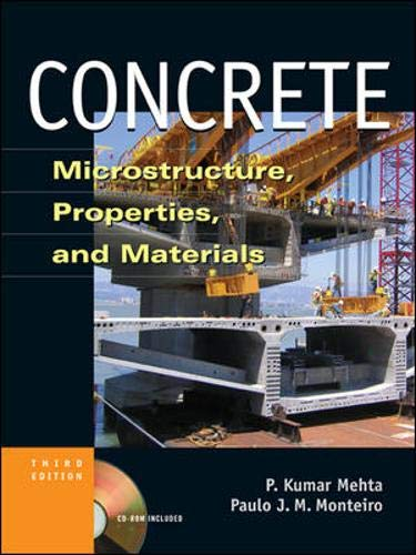 9780071462891: Concrete: Microstructure, Properties and Materials