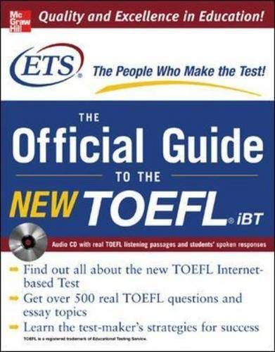 9780071462976: TOEFL iBT: The Official ETS Study Guide (McGraw-Hill's TOEFL iBT)