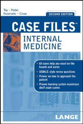 9780071463034: Case Files Internal Medicine, Second Edition (LANGE Case Files)