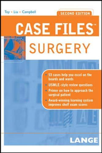9780071463041: Case Files Surgery, Second Edition (LANGE Case Files)