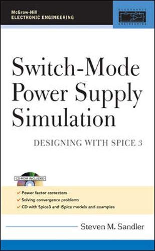 9780071463263: Switch-Mode Power Supply Simulation: Designing with SPICE 3 (McGraw-Hill Electronic Engineering)