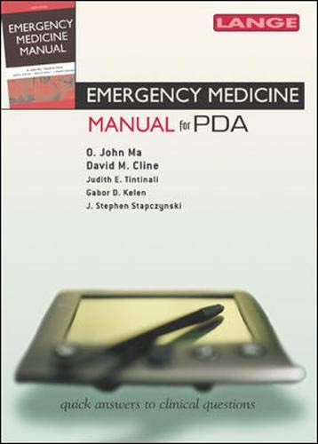 9780071463355: Emergency Medicine Manual 6e for the PDA (Mobile Consult)