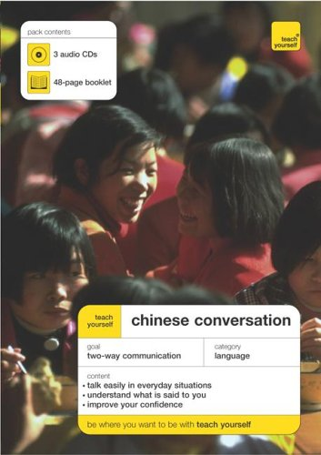 9780071463416: Teach Yourself Mandarin Chinese Conversation (3CDs+ Guide) (TY: Conversation)