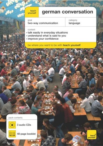 9780071463539: Teach Yourself German Conversation (3cds + Guide) [With CD (3)] (Teach Yourself (McGraw-Hill))