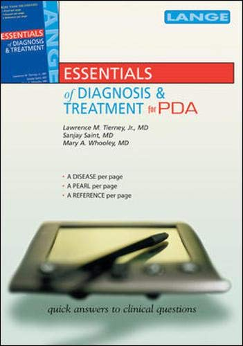 9780071463782: Essentials of Diagnosis and Treatment for PDA, Third Edition (Lange Current Series)