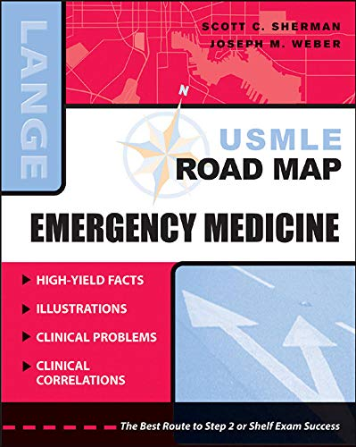 9780071463881: USMLE Road Map: Emergency Medicine (LANGE USMLE Road Maps)