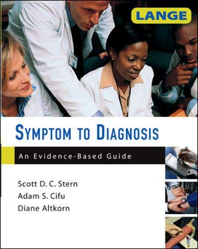 9780071463898: Symptom to Diagnosis: An Evidence-Based Guide