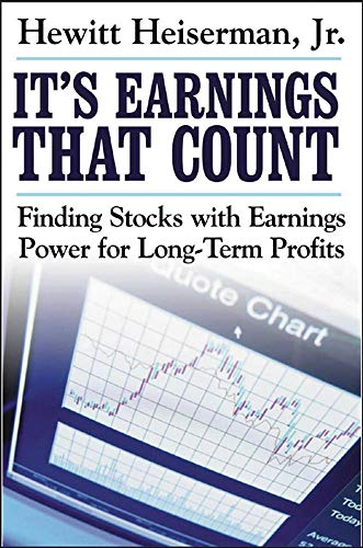 9780071463997: It's Earnings That Count: Finding Stocks with Earnings Power for Long-Term Profits