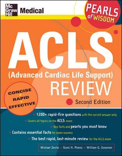 9780071464017: ACLS (Advanced Cardiac Life Support) Review (McGraw-Hill's ACLS (Advanced Cardiac Life Support) Review)