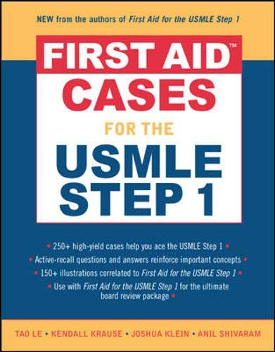9780071464109: First AidTM Cases for the USMLE Step 1 (First Aid Series)