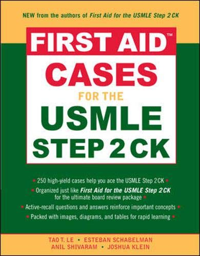 9780071464116: First Aid™ Cases for the USMLE Step 2 CK (First Aid USMLE)