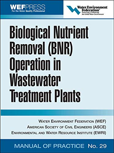 9780071464154: Biological Nutrient Removal (BNR) Operation in Wastewater Treatment Plants: WEF Manual of Practice No. 30