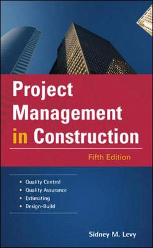 9780071464178: Project Management in Construction (McGraw-Hill Professional Engineering)
