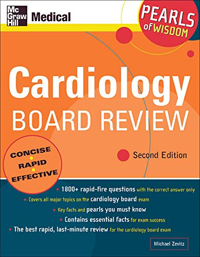 9780071464222: Cardiology Board Review: Pearls of Wisdom, Second Edition