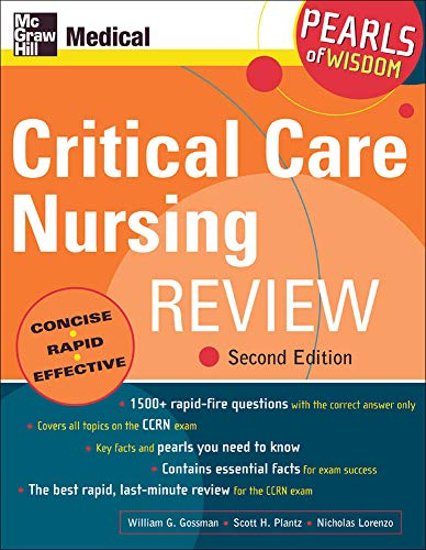 9780071464239: Critical Care Nursing Review: Pearls of Wisdom, Second Edition
