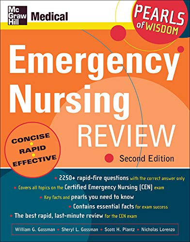 9780071464253: Emergency Nursing Review: Pearls of Wisdom, Second Edition