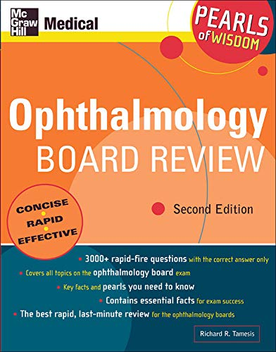 9780071464390: Ophthalmology Board Review: Pearls of Wisdom, Second Edition