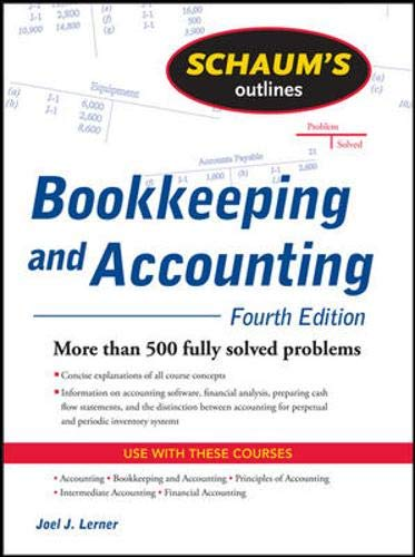9780071464581: Schaum's Outline of Bookkeeping and Accounting (Schaum's Outline Series)