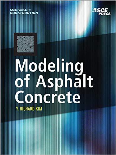 9780071464628: MODELING OF ASPHALT CONCRETE (McGraw-Hill Construction)