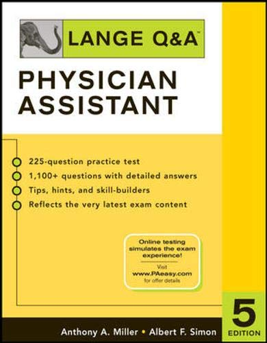 9780071464765: Lange Q&A: Physician Assistant, Fifth Edition (LANGE Q&A Allied Health)