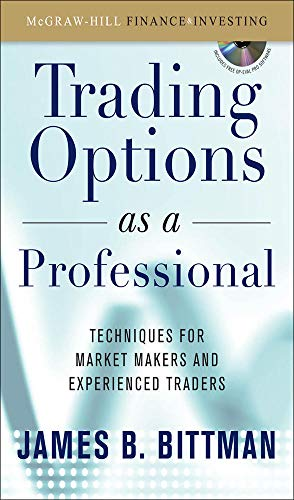 9780071465052: Trading Options as a Professional: Techniques for Market Makers and Experienced Traders