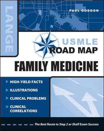 9780071465434: USMLE Road Map: Family Medicine (LANGE USMLE Road Maps)