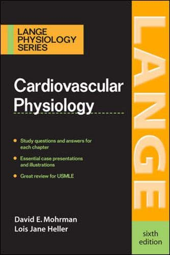 9780071465618: Cardiovascular Physiology (LANGE Physiology Series)