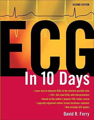 9780071465625: ECG in 10 Days