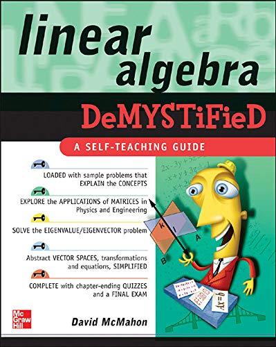 9780071465793: Linear Algebra Demystified