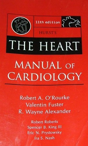 9780071466219: Hurst's THE HEART Manual of Cardiology 11th Edition
