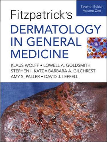 9780071466905: Fitzpatrick's Dermatology In General Medicine, Seventh Edition: Two Volumes (Dermatology in General Medicine (Fitzpatrick))