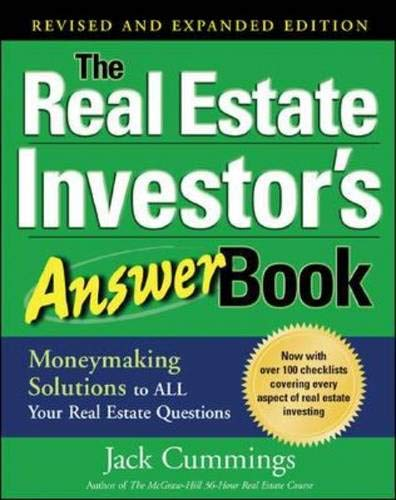 9780071467124: The Real Estate Investor's Answer Book: Money Making Solutions to All Your Real Estate Questions